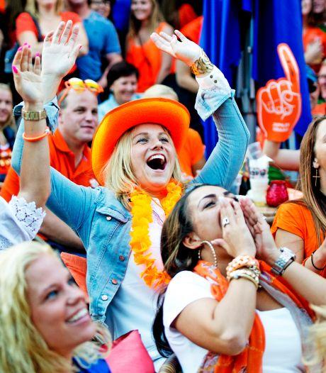 EK-voetbal kijken op het terras: Rotterdam staat grote schermen toe