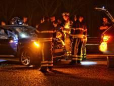 Kop-staartbotsing op A58 bij Sprundel, een persoon gewond
