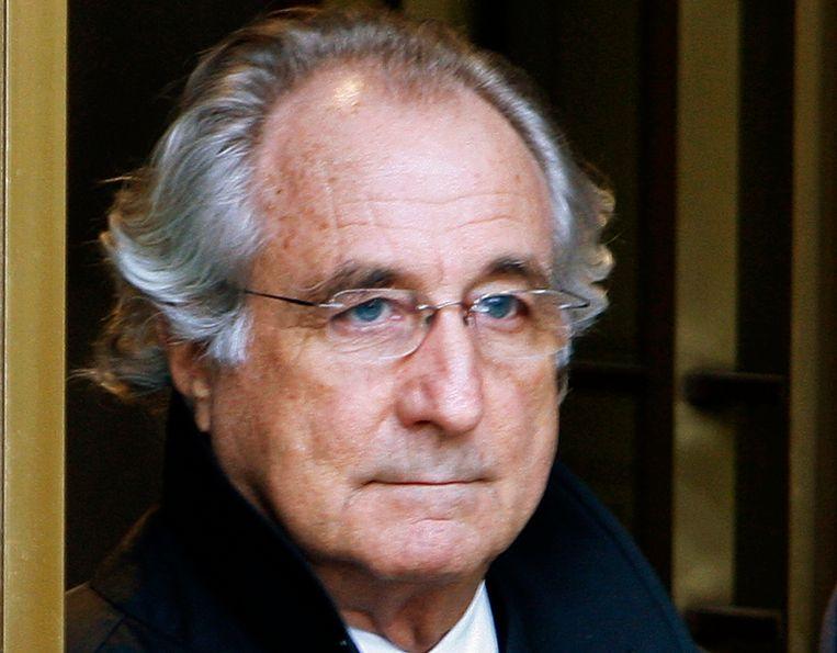 Bernard Madoff in 2009. Beeld REUTERS