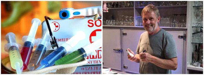 Ronny De Ryck lanceerde een ludieke actie voor café Het Gemeentehuis in Rillaar.