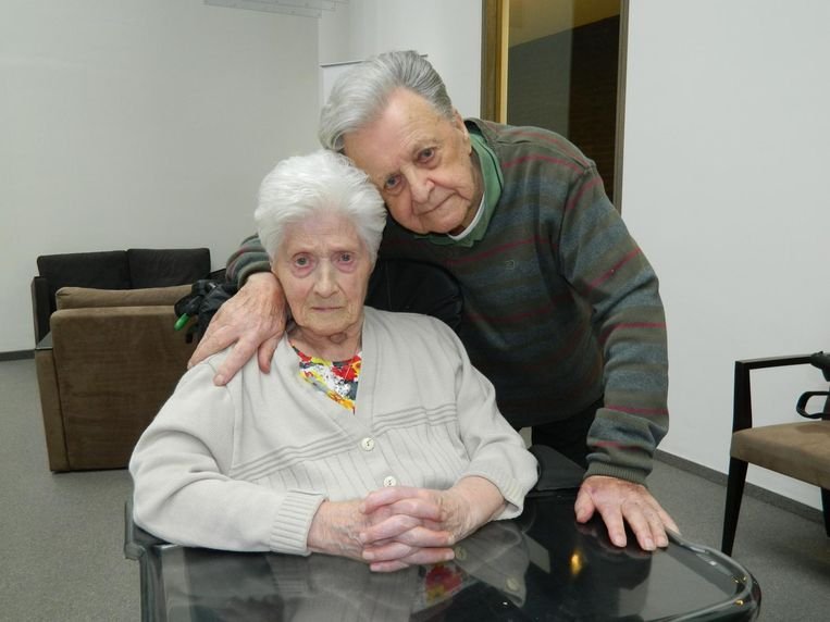 August Raeman (96) en Emelie Maenhoudt (96) zijn 75 jaar getrouwd én nog altijd heel gelukkig samen.
