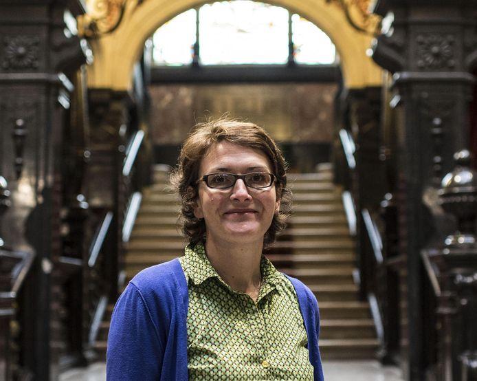 De Borgerhoutse districtsburgemeester Marij Preneel (Groen).