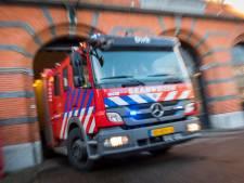 Brand bij staalrecyclingbedrijf in Farmsum, tientallen medewerkers geëvacueerd.