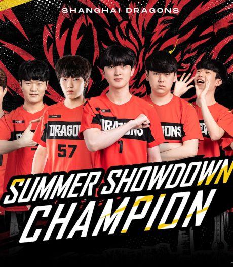 Shanghai Dragons wint tweede Overwatch-toernooi op rij