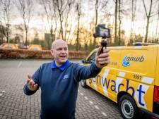 Robert Bosch, de vloggende wegenwachter uit Twente: 'Ik hoef niet bang te zijn dat ze wegrijden'