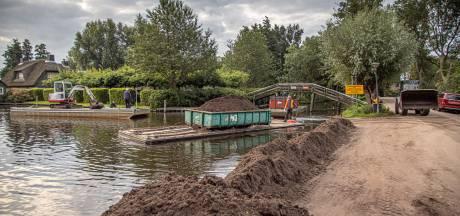 Opnieuw gedoe rondom loswal in Giethoorn: gemeente en provincie zijn het niet eens