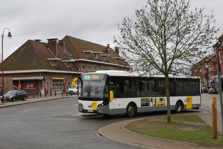 Van aan het station in Aarschot kan je de bus nemen naar Rock Werchter