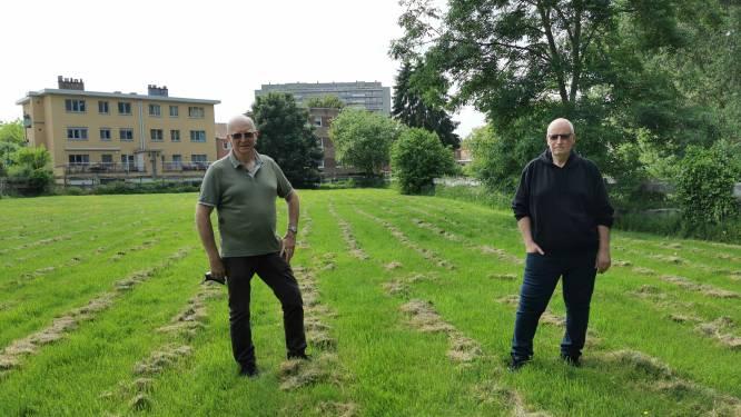 """Is ons stuk grond nu nog geld waard of niet?"" Eigenaars Herman en Patrick bezorgd nu geplande verkaveling langs Brusselbaan geschrapt werd"