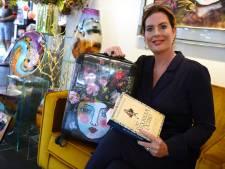 Kunstenares Maureen Knobben uit Ootmarsum  hoopt op een romantisch Capri