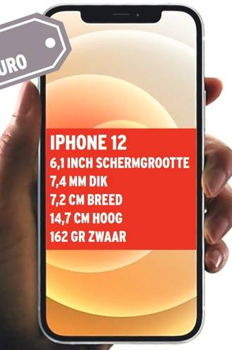 Apple verrast met kleine smartphone: size matters (ook in omgekeerde richting)
