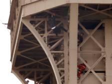 """Le """"grimpeur"""" de la Tour Eiffel est un demandeur d'asile russe avec des tendances suicidaires"""