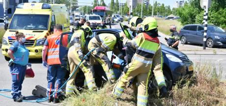 Ongeluk op Jonkerbosplein zorgt voor verkeersoverlast in Nijmegen