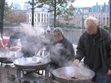 Hoffelijk ontbijt in Den Haag door protestboeren