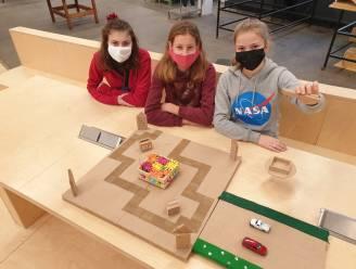 """'Flower-drone' van drie studentes GO! Geel raakt tot in  finale Nederlandse techniekwedstrijd: """"Strooit bloemzaadjes over rotondes en bermen"""""""