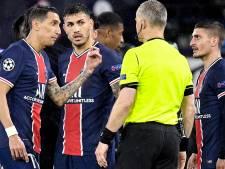 """Herrera et Verratti accusent l'arbitre de City-PSG d'insultes: """"Il a dit 'Fuck off' à Paredes"""""""