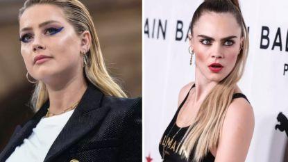 """Advocaten Johnny Depp halen uit: """"Amber Heard had een affaire met Cara Delevingne én Elon Musk"""""""