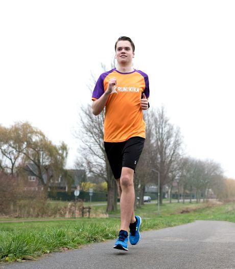 Bjorn traint voor zijn eerste marathon: door de woestijn van Jordanië, voor zijn neefje met leukemie