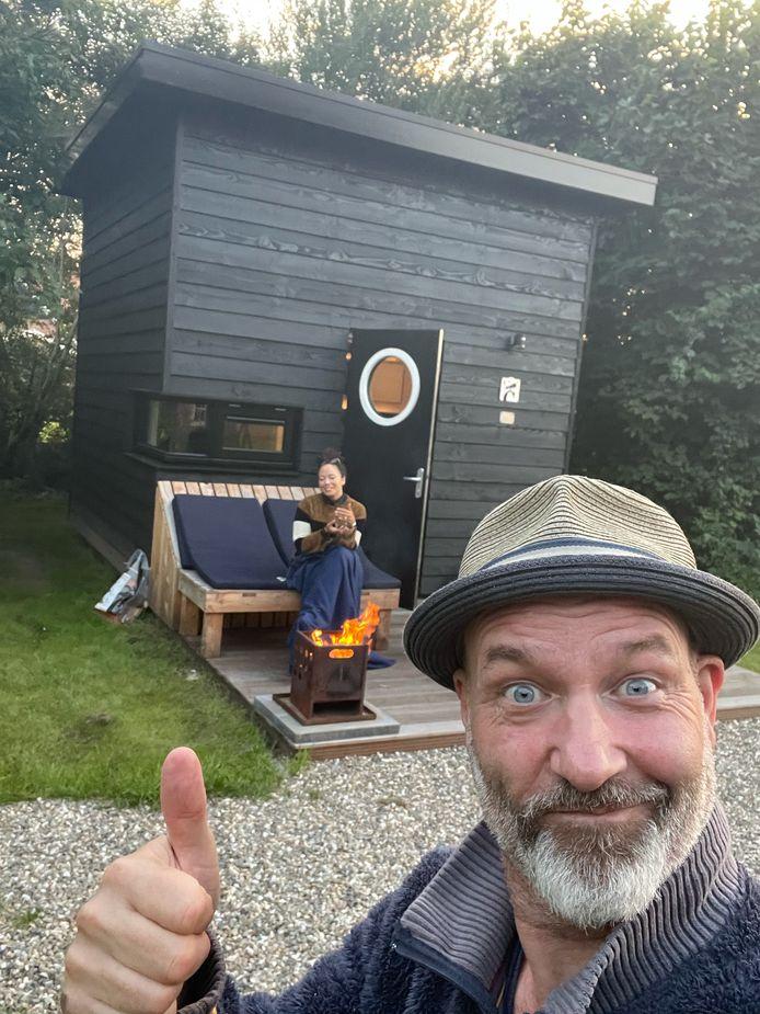 Eddy Zoëy op vakantie in Lattrop