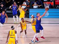 LA Lakers winnen eerste duel van Denver Nuggets