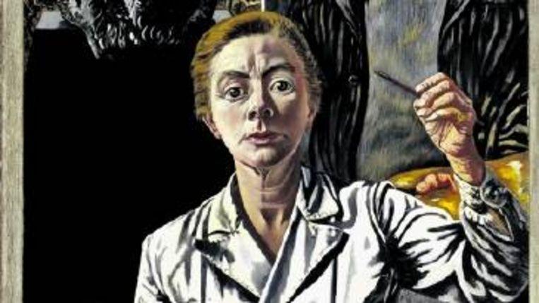 Aan ¿De drie generaties¿ werkte Charley Toorop jarenlang. (FOTO MUSEUM BOIJMANS VAN BEUNINGEN) Beeld