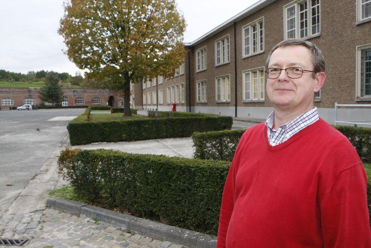 Guy Hanegreefs van de Vrienden van het Stedelijk Museum en Archief.