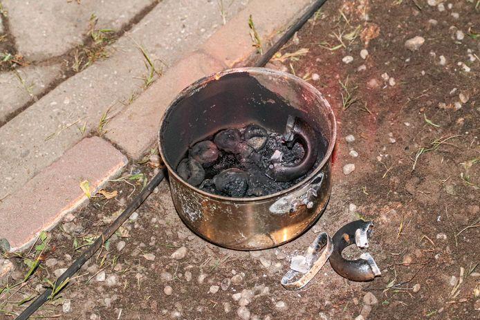 De vergeten pan waar de vlam insloeg.