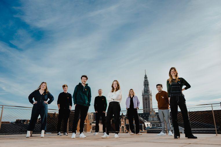 Het team van Studio Brussel trekt de laatste week voor kerst langs 20 locaties in Leuven. Beeld rv