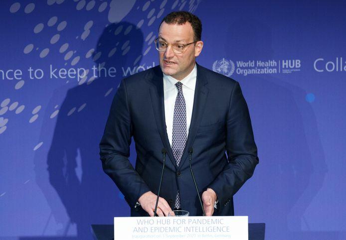 De Duitse minister van Volksgezondheid Jens Spahn.