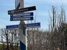 Ondernemers uit Vriezenveen willen dat Bebo Parket boete krijgt voor 'illegale verwijsbordjes'
