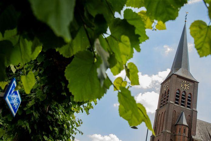 De kerk in Horssen.