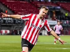 Voormalig PEC-spits Lennart Thy gaat gewoon juichen als hij tegen zijn oude club scoort