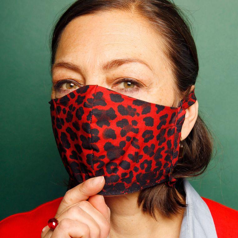 Het 'Take action mask' van Rika Studios. Beeld Studio V