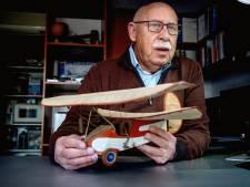 'Het modelvliegtuig is het enige wat ik heb uit de tijd dat mijn moeder nog leefde'