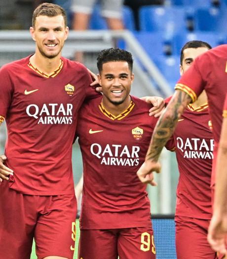AS Roma wervelt in eerste helft voorbij Sassuolo, hoofdrol voor Kluivert