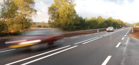 De discussie over de N224 laait weer op na dood van wolvin: 'Een verkapte snelweg dwars door de natuur'