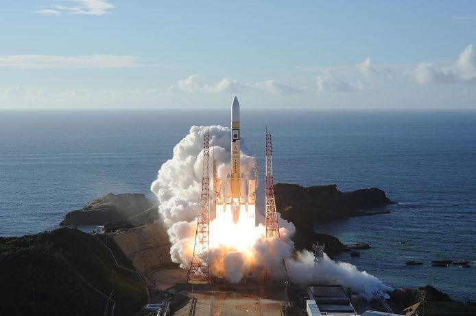 Décollage de la sonde Al-Amal depuis le centre spatial de Tanegashima