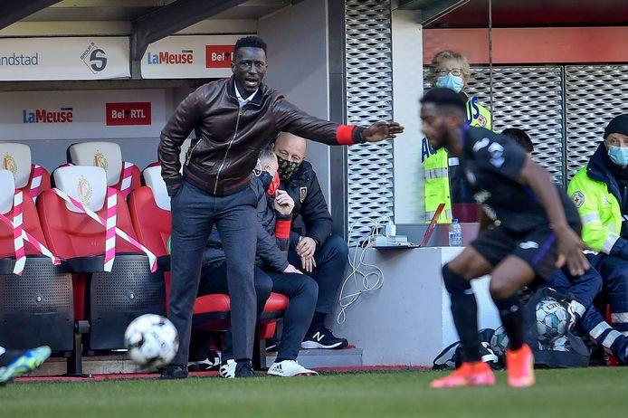Mbaye Leye was niet mals voor z'n spelersgroep na de nederlaag tegen Anderlecht.