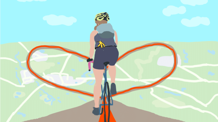 De opbrengst van de fietsactie gaat naar de Hartstichting voor onderzoek.