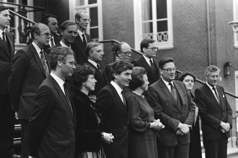 Het eerste kabinet-Lubbers werd in in 1982 in 51 dagen voorbereid door twee informateurs, waarna Lubbers het proces in 6 dagen afrondde.   Beeld Nationaal Archief