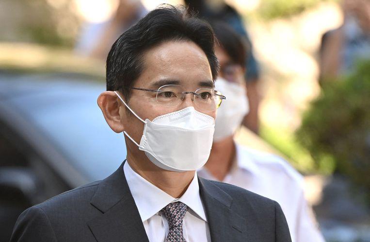 Topman Lee Jae-yong. Beeld AFP