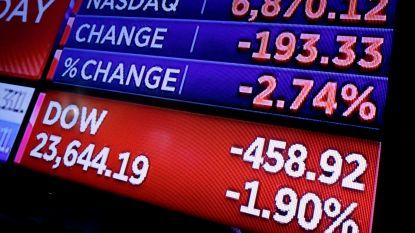 Wall Street veert op van flinke koersval