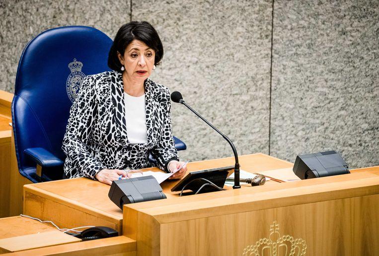 Kamervoorzitter Khadija Arib. Beeld ANP/Bart Maat