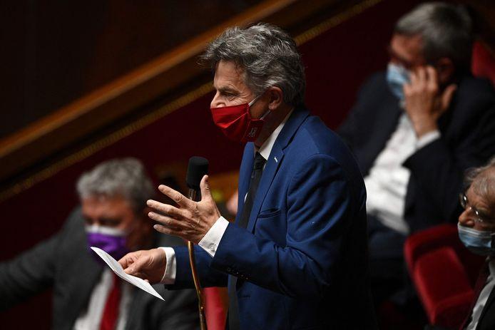 Fabien Roussel (C).