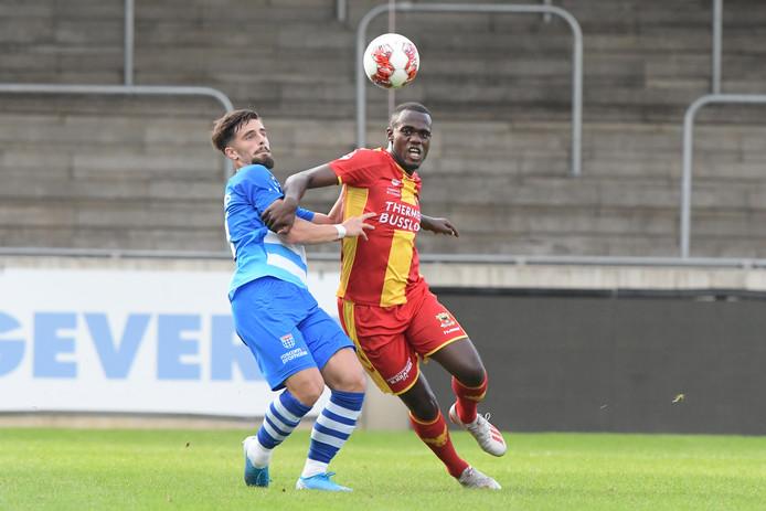 Jong Go Ahead Eagles en Jong PEC troffen elkaar dit seizoen al eerder: in Deventer werd het 2-1.