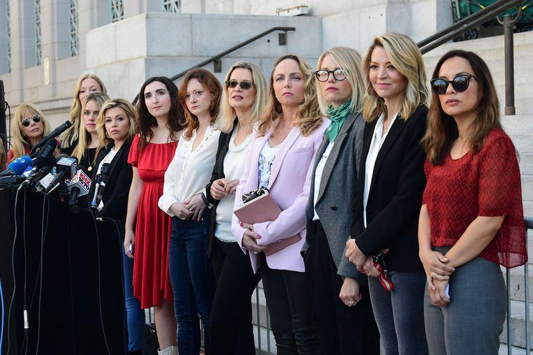 #MeToo-activisten na de veroordeling van Harvey Weinstein's.