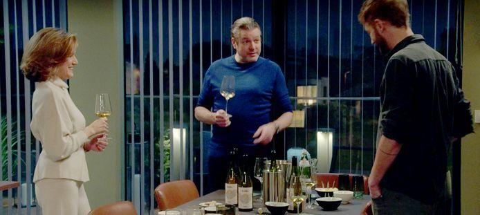 Acteur Wim Stevens (Tom De Decker) 'promoot' foie gras volgens GAIA in dit fragment.