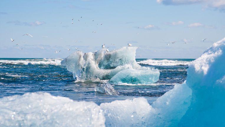Smeltende gletsjer Beeld thinkstock