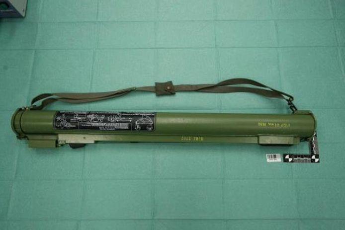 Een archieffoto van een raketwerper. Met dit wapen wilde een Helmonder premier Mark Rutte bestoken, zo mailde hij naar het ministerie.