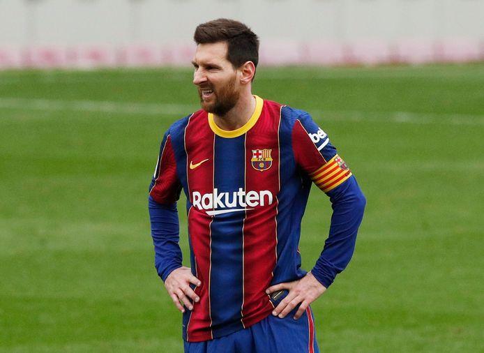 Semaine pourrie pour le Barça et Leo Messi.