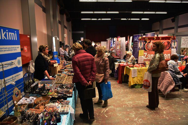Het Spiritual Lifestyle Event vond zondag in Grimbergen plaats.